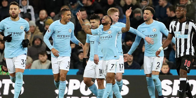 Skor tipis 0-1 Warnai Kemenangan Manchester City Atas Newcastle United
