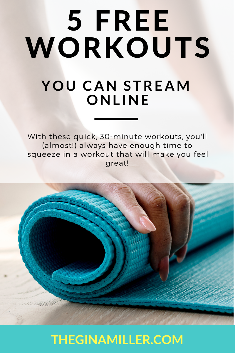 5 Free Streaming Workouts,