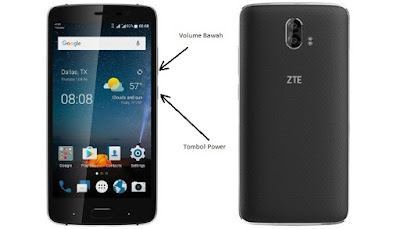 Cara Screenshot ZTE Blade V8 Pro images