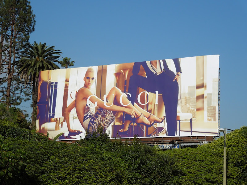 Gucci Spring 2012 billboard