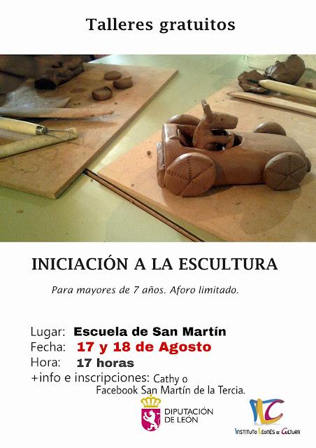 Escultura, san martín tercia, villamanin, valle tercia arbas, diputación león, ilc, instituto leones de cultura,