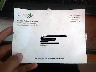 Surat Pin Google Adsense