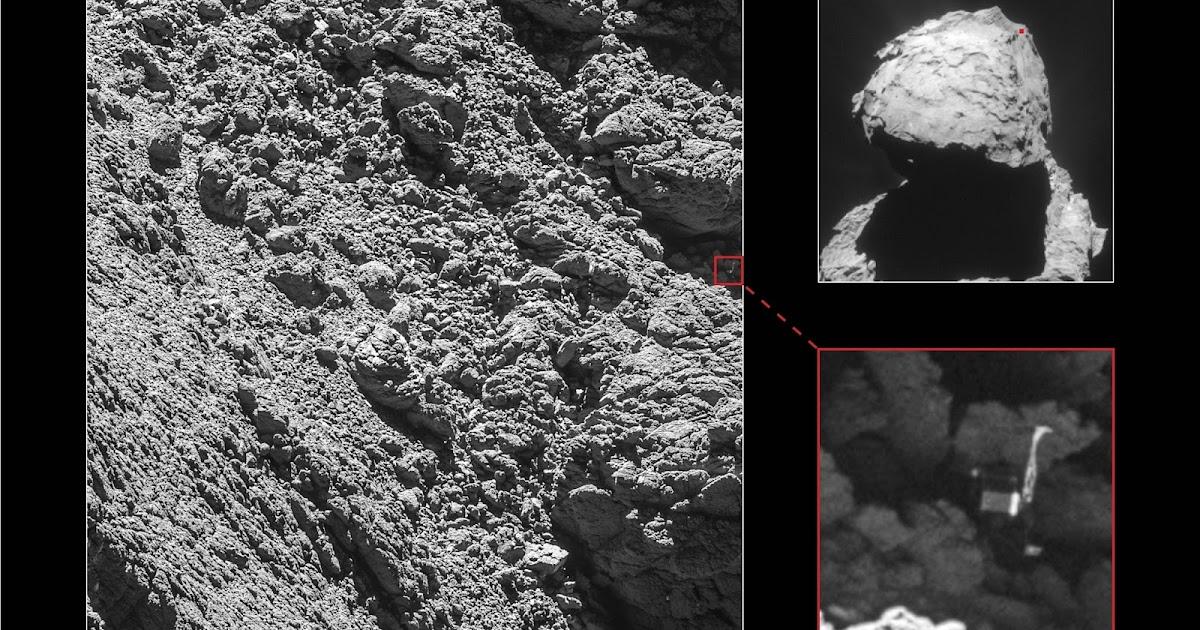 Rosetta trova Philae