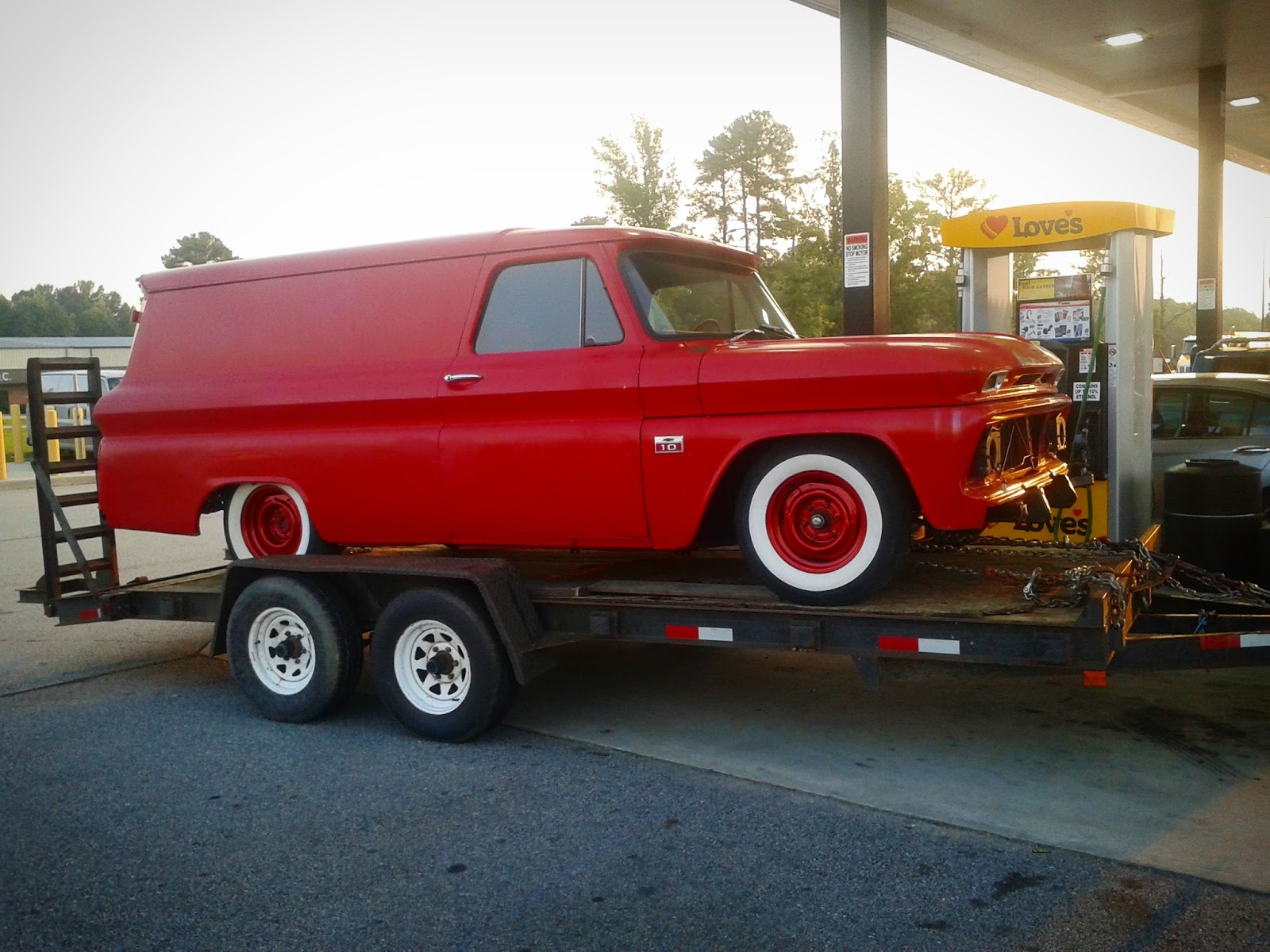 Gangster Choppers Just The Good Ole Boys 1966 Chevy C10 Custom Panel Truck