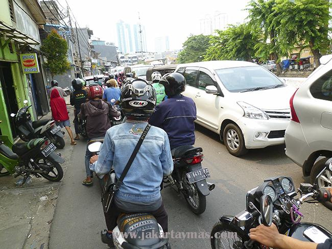 Tráfico en Yakarta