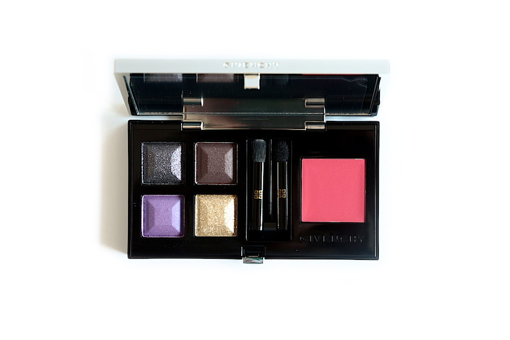 givenchy palette extravagancia collection automne 2014 avis test swatch