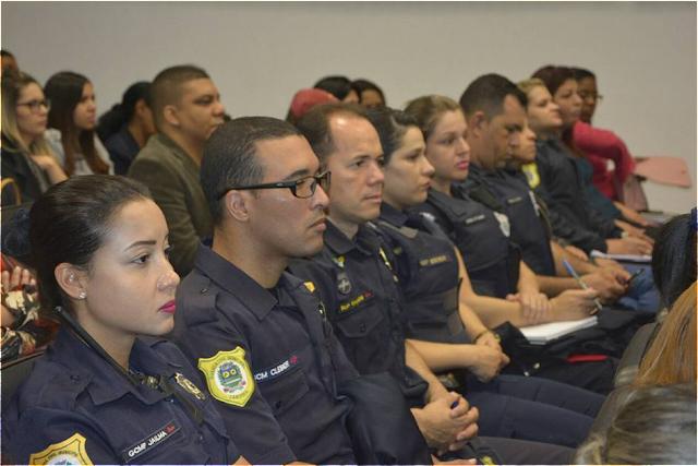 GCM de Jandira participa de evento contra a violência sexual infantil