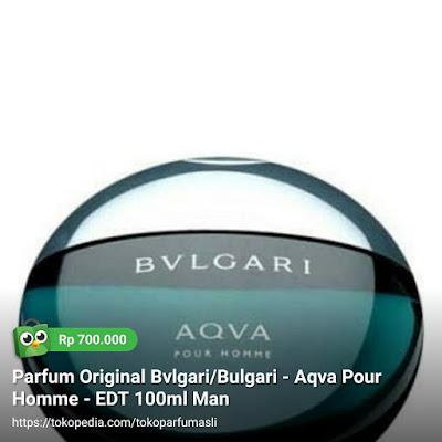 toko parfum asli parfum original bvlgari aqva pour homme edt 100ml man