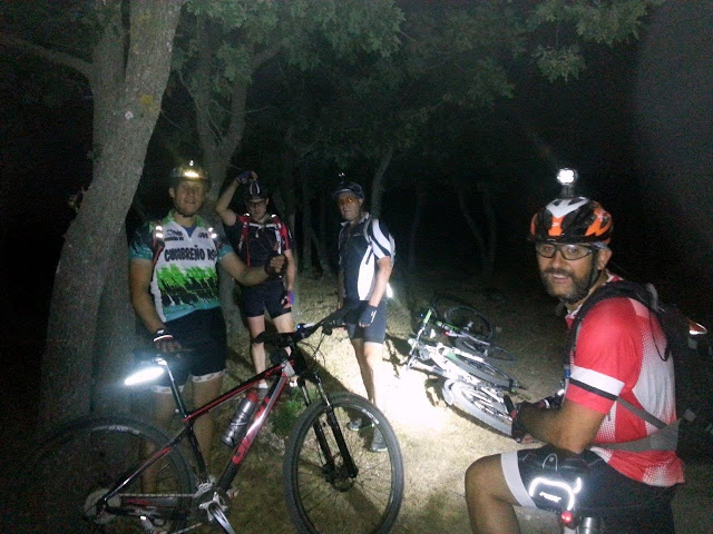 IV Ruta MTB Nocturna - AlfonsoyAmigos
