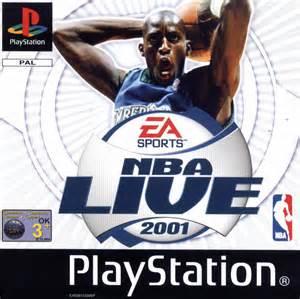 NBA Live 2001 - PS1 - ISOs Download