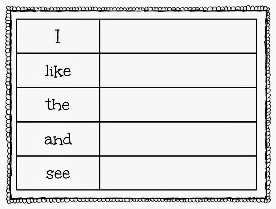 New 351 Sight Word Worksheet Here