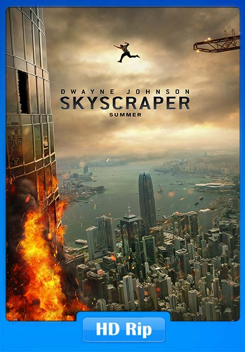 Skyscraper 2018 720p Hindi HQ HDRip x264 | 480p 300MB | 100MB HEVC