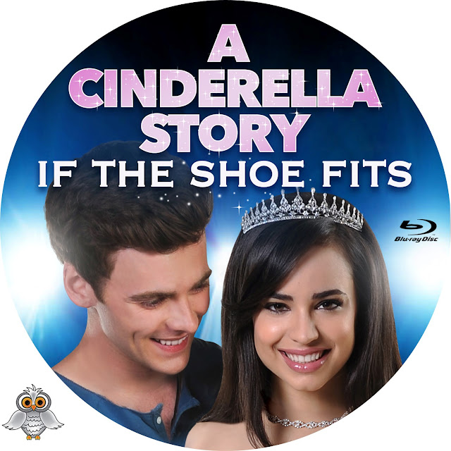 A Cinderela Story If The Show Fits Bluray Label