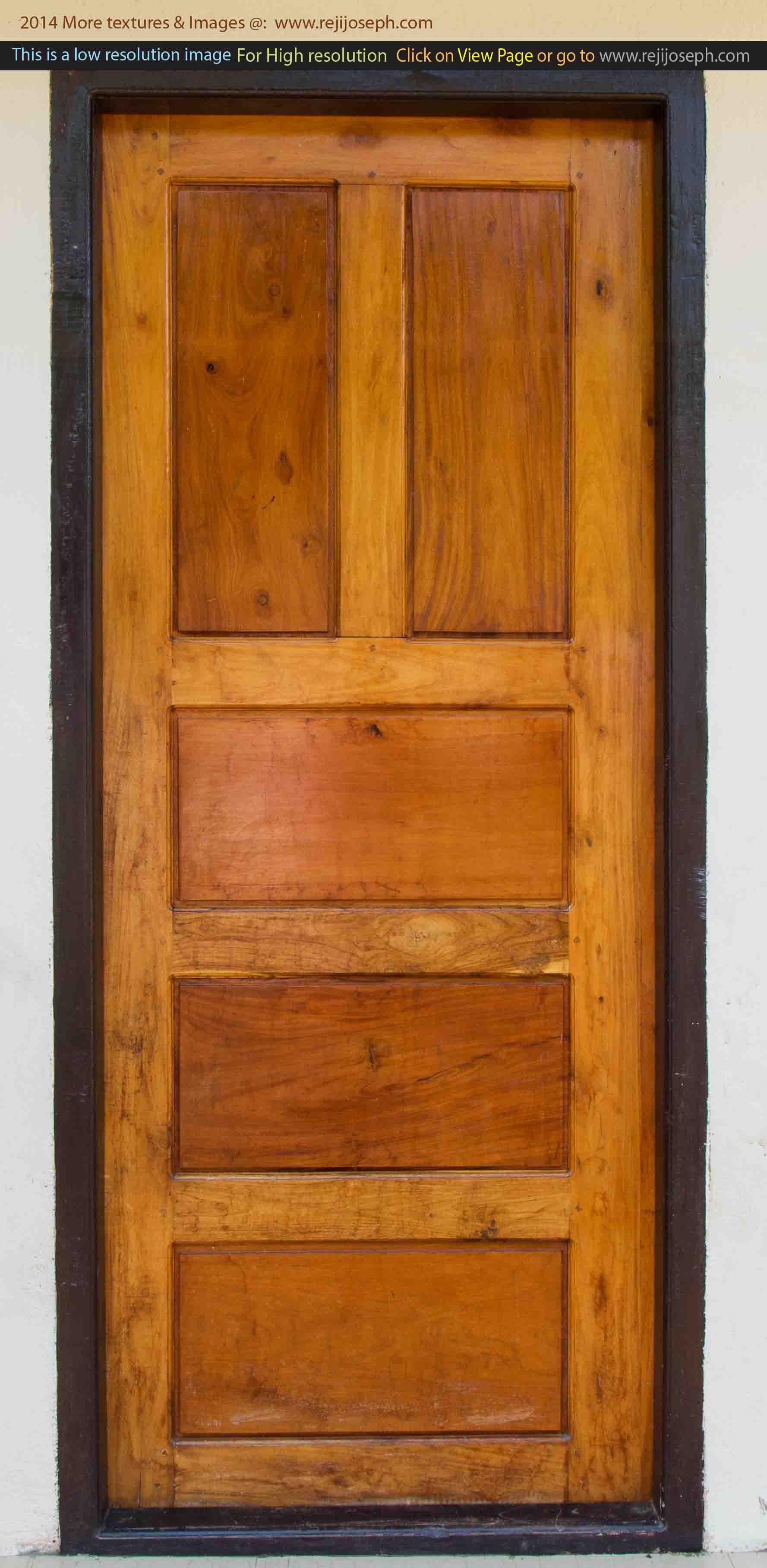 Wooden door texture 00003