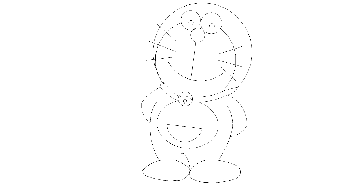 Kumpulan Gambar Kartun Doraemon Dari Pensil Kolek Gambar