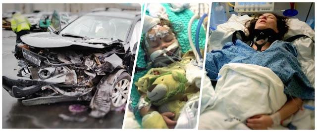zdjęcia: siepomaga/ Matka i dwoje dzieci niemal zabici przez szaleńca