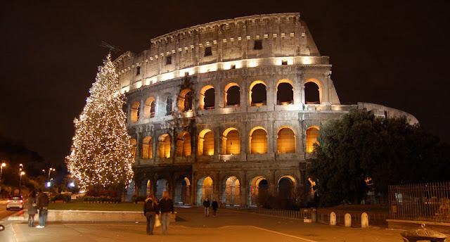 Passeio pelo Coliseu no Natal em Roma