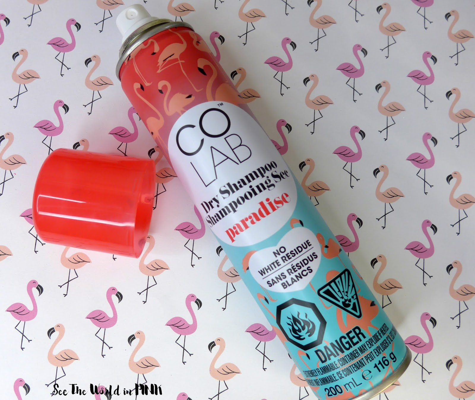 Colab Dry Shampoo - Paradise Scented and Extreme Volume!