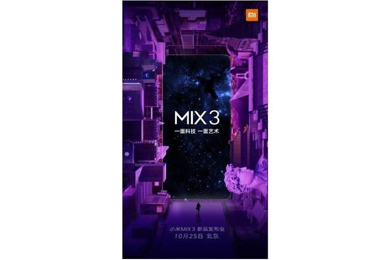 Xiaomi Mi MIX 3 ram 8GB ? Release Date 2018 !