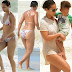 Alicia Keys makes a rare appearance in a bikini