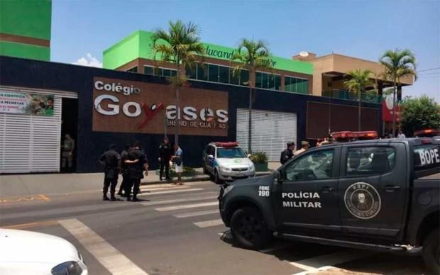 Dos muertos y tres heridos en tiroteo en escuela en Brasil