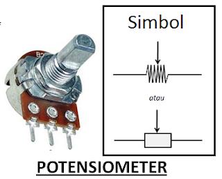 Pengertian Potensiometer, Fungsinya dan Cara Kerjanya