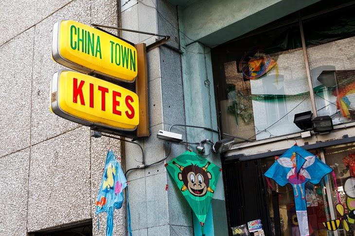 Passagem Gastronômica - Kites Shop - Chinatown - Roteiro de São Francisco - Estados Unidos