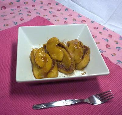 Tostada Francesa Vegana con Manzana y Canela