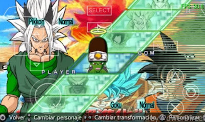 Download Dragon Ball Z - Shin Budokai 2 PPSSPP