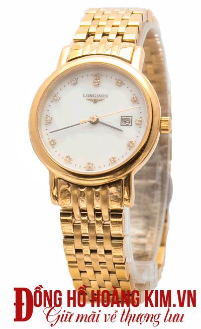đồng hồ nữ dây kim loại hàng hiệu