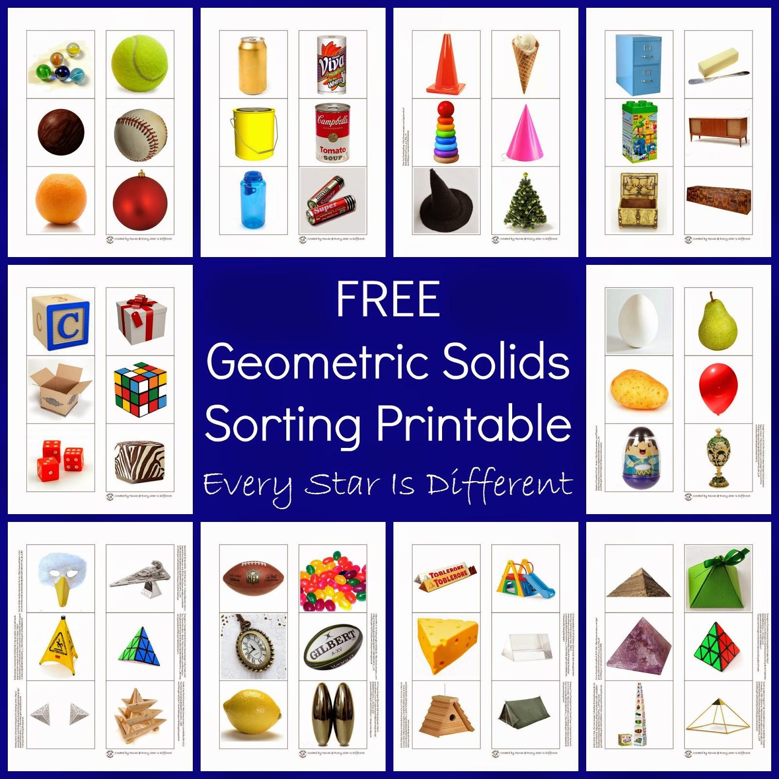 Geometric Solid Sorting