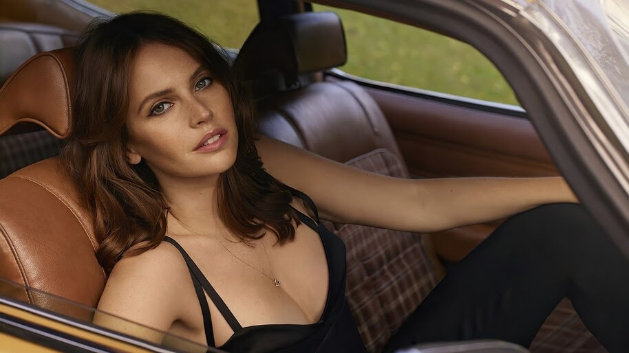 Felicity Jones, Beautiful, Actress, 4K, #6.334