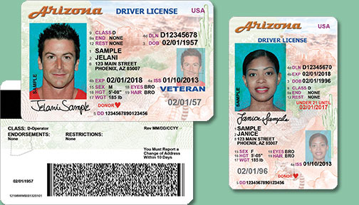 az drivers license Arizona driver license manual and customer service guide 7 upon discharge,  military personnel may work in arizona for up to 90 days without obtaining.