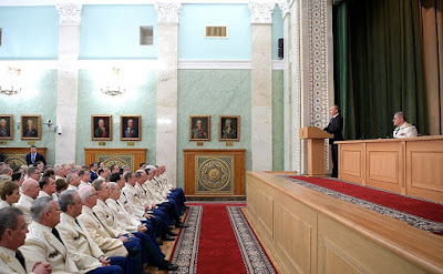 Vladimir Putin - congratulations on the 295th anniversary of the Russian prosecution service.
