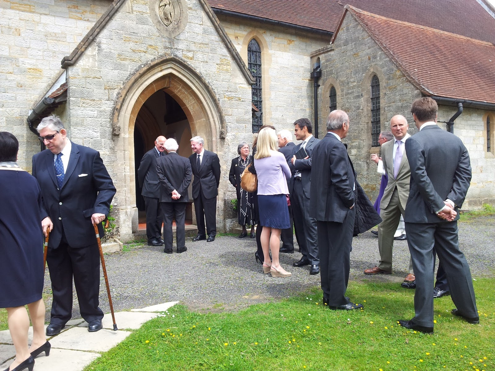 Charles Memorial Service At St Johns Church Heron S Ghyll