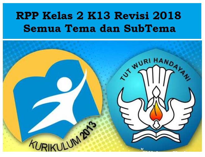 RPP Kelas 2 Tema 4 Hidup Bersih dan Sehat K13 Revisi 2018 ...