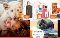 Logo ''Vinci con Mia e il Leone Bianco'': vinci Travel kit (valigia e voucher) e viaggio in Sud Africa