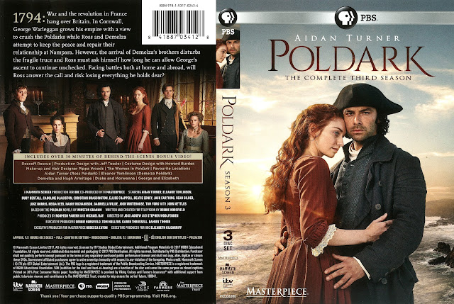 Poldark Season 3 DVD Cover