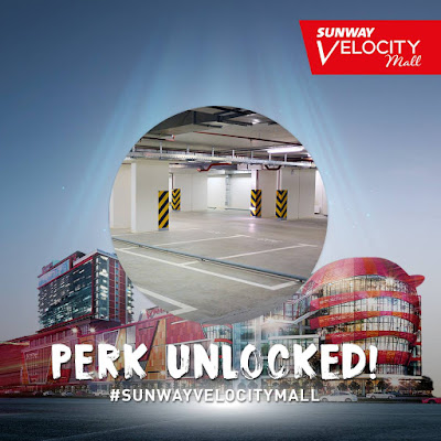 Sunway Velocity Mall Free Parking Promo