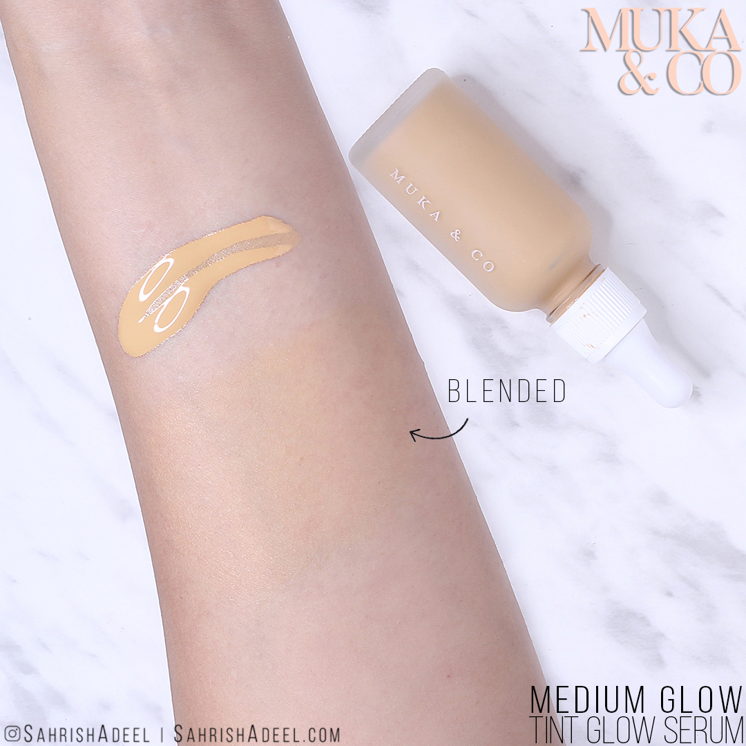 Tint Glo Serum by Muka & Co - Review, Swatch, Try On & Discount Code!