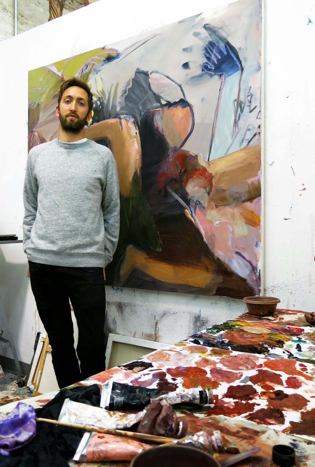 New York Academy of Art: Studio Portraits: Nick Lepard