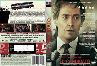 The Front Runner- El Candidato - Cover DVD