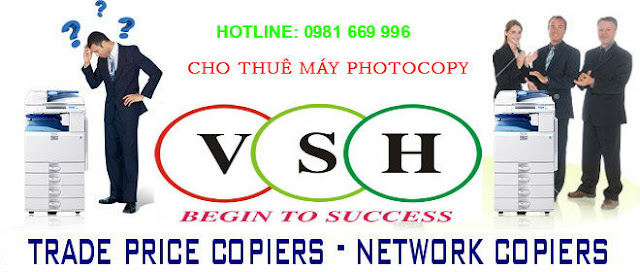 Cho thuê máy photocopy giá rẻ Hải Phòng