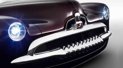 Holden Efijy Concept Model Car Head Lamp