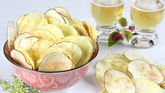 Microwave Sea Salt Potato Chips