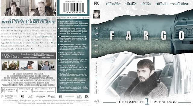 Capa Bluray Fargo Primeira Temporada Completa