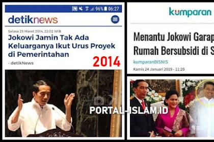 Jokowi Jamin Tak Ada Keluarganya Ikut Urus Proyek di Pemerintahan, Ehh TERNYATA.. Menantu Jokowi Garap Proyek Pemerintah Rumah Bersubsidi di Sukabumi