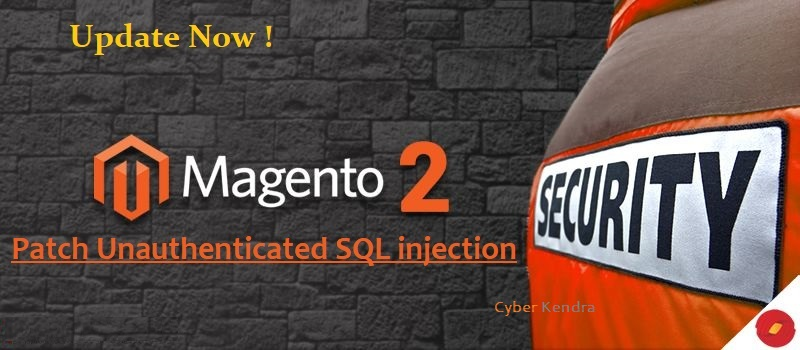 Magento SQL injection vulnerability