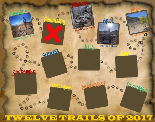 Twelve Trails of 2017 - May