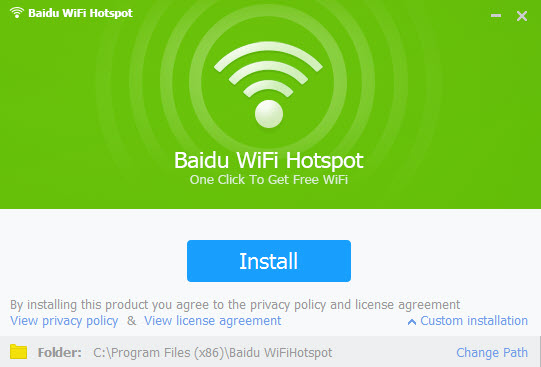 Download Baidu WiFi Hotspot for Windows 10, 7, 8 (64 bit / 32 bit)